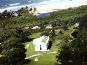 trancoso igreja de são joão batista quadrado brasil